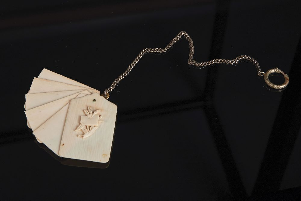 Карне (бальная книжка). 1860–1890. Victoria Museum Carnet de bal (dance card). 1860–1890. Victoria Museum