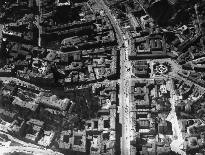 Киевский Париж 1918 - аэрофото нем.2
