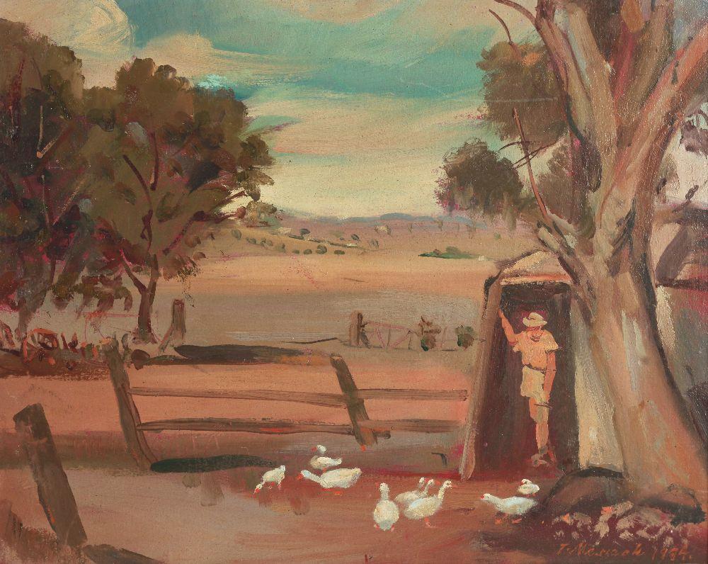 Надвечірнє світло. Софала. 1994. Фанера, олія. Музей української діаспори