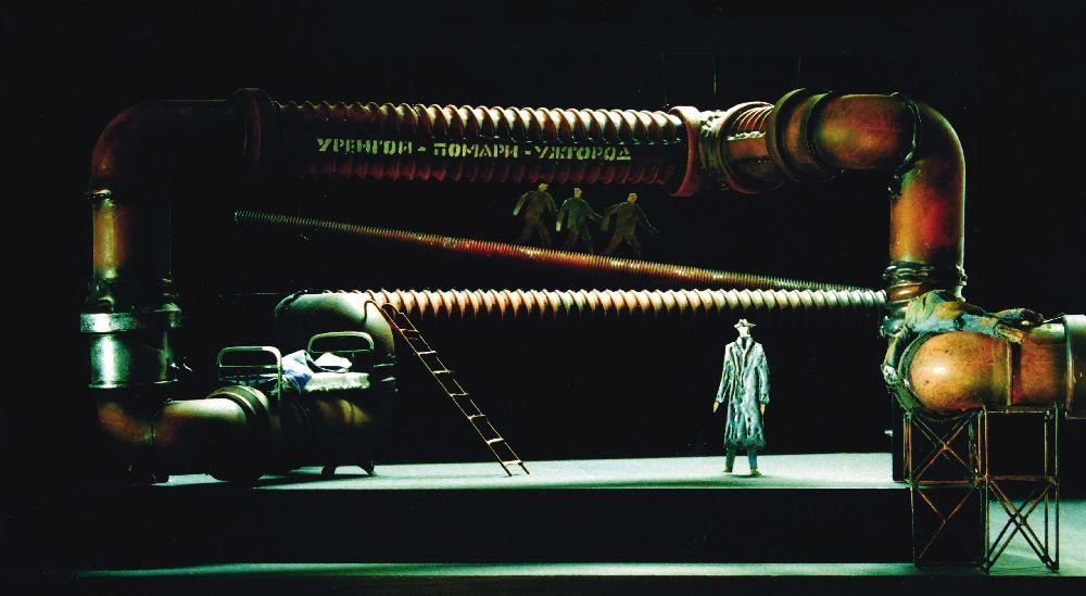Макет довистави «Московіада». 2006. Молодий театр, реж. С.Мойсеєв