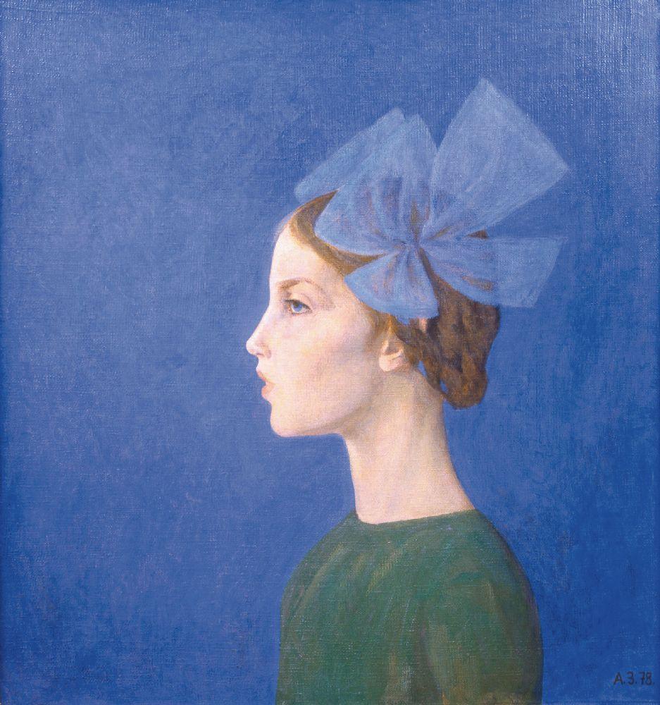 Донька Юля. 1978. Полотно, олія. Власність родини художника