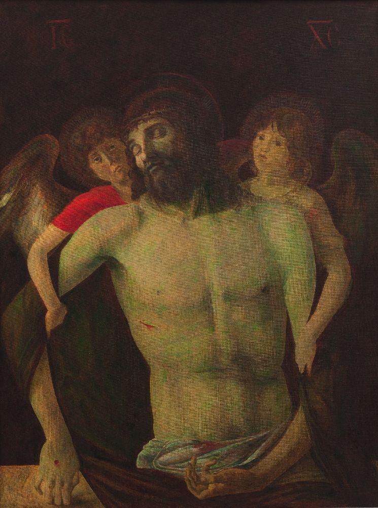 Копія картини Джованні Белліні «П'єта». 2008. Власність родини художника