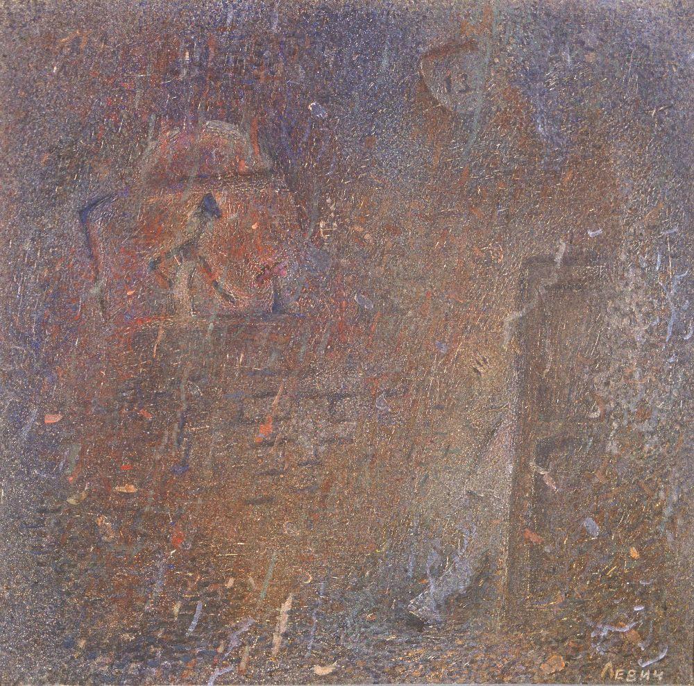 Гость.1968–1992. Холст, масло