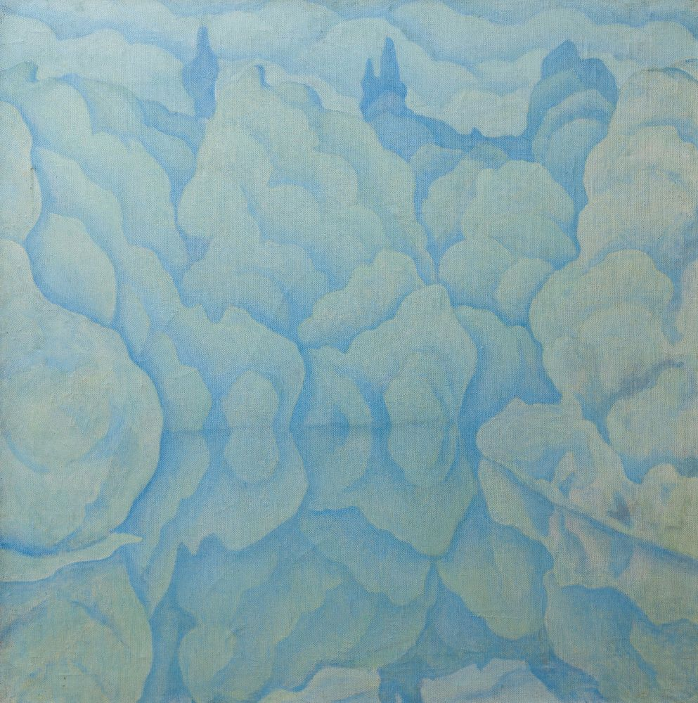 Замріяне озеро. Друга пол. 1960-х рр. Полотно, олія. Власність родини художника
